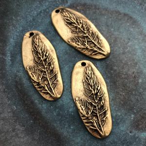 Denali Pendant Antique Gold