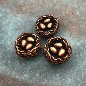Artisan Nest Bead - Antique Copper