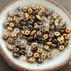 Honeybee Mix Superduo 2.5x5mm Seed Bead