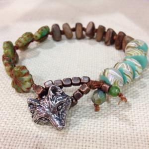 Fox in the Forest Bracelet
