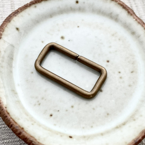Large Rectangle Jump Ring - 24x12.5mm