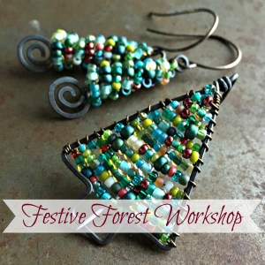 Festive Forest Jewelry Online Workshop