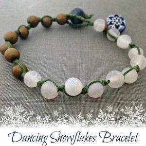 Dancing Snowflakes Bracelet