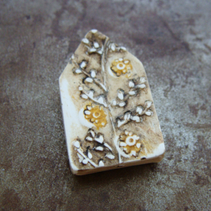 Tiny Flowers House Bead