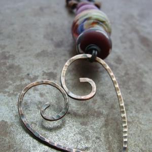 Wire Heart Pendant