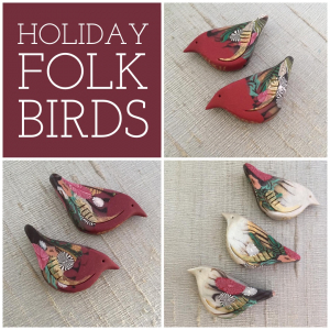 Holiday Folk Bird