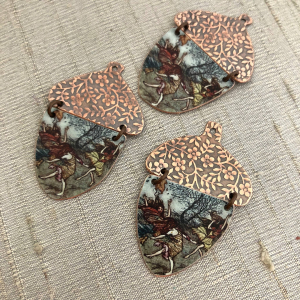 Rustling Leaves Acorn Pendant