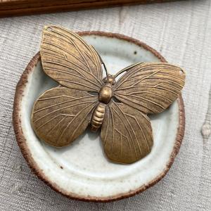 Lunarfly Pendant - Brass