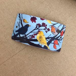 Autumn Birds Bracelet Bar