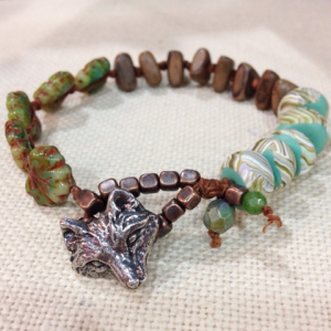 Fox in the Forest Bracelet
