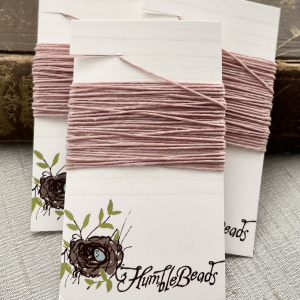 4 Ply Irish Waxed Linen - Victorian Rose