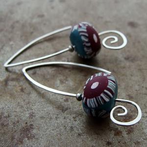 Candy Cane Earrings
