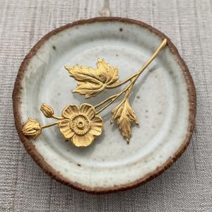 Stemmed Flower - Brass