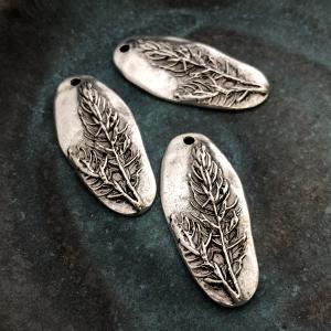 Denali Pendant Antique Silver