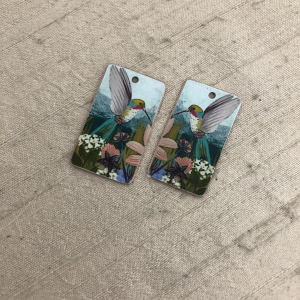 Hummingbird Earring Charms