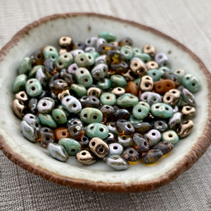Treetop Mix Superduo 2.5x5mm Seed Bead
