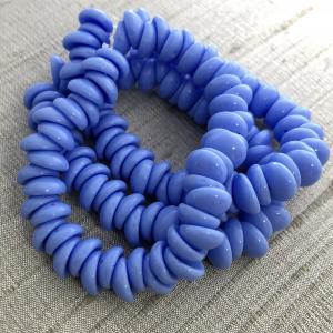 4x8mm Piggy Bead Dark Periwinkle