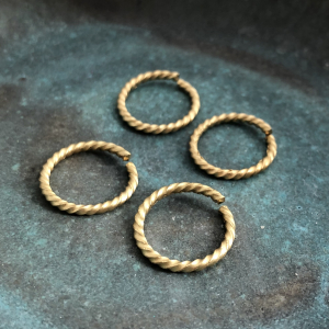 Roped Jump Ring 17mm