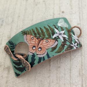 Ferns & Moths Bracelet Toggle