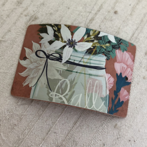 Ball Jar Bouquet Bracelet Bar