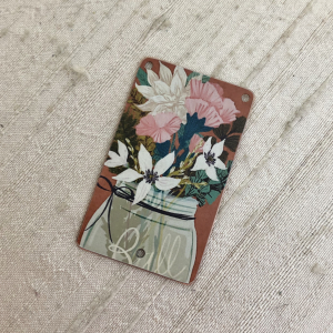 Ball Jar Bouquet Pendant