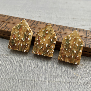 Willow House Bead - Gold