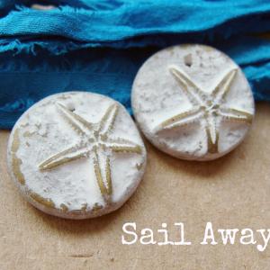 Sandy Shores Tiny Starfish Charms