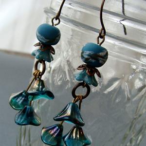 Blue Bell Earrings